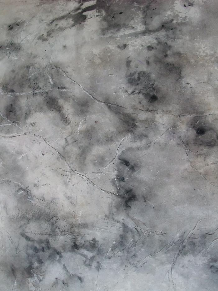 Nébuleuse gris clair 2010, ink and pastel, on paper, 55x 76cm.